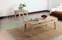Scandinavian Furniture No.1 Selling Square Wooden Coffee Table with Drawers