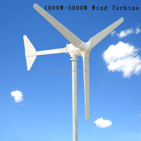 Mini light 2KW small wind generator good performance wind power for homes