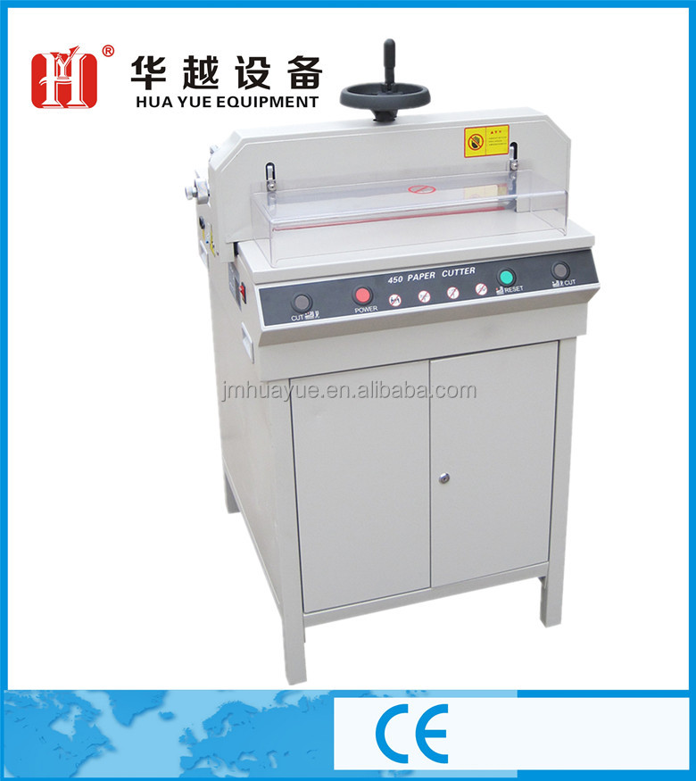 Hua Yue Hand press paper cutting machine for album book