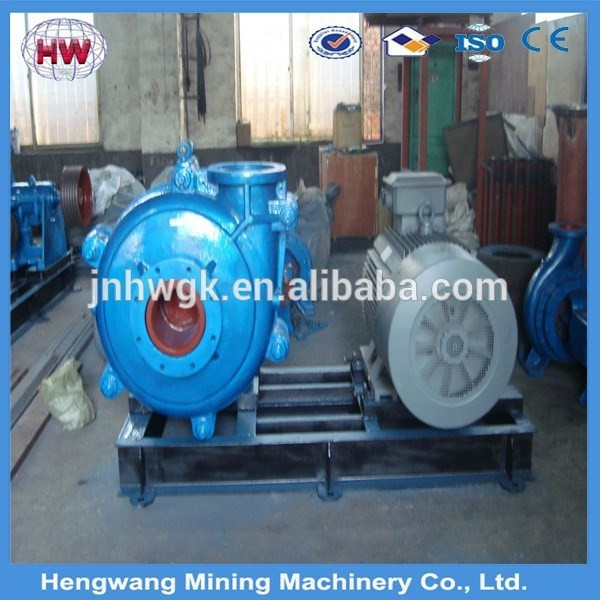 horizontal heavy duty slurry pump/mud pump