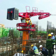 28m 32m 33m self-climbing concrete placing boom/ concrete distributor/concrete placer