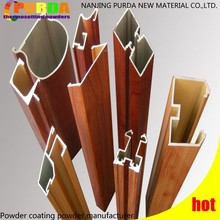 Heat Transfer Wood Finish Powder Paint for Aluminum