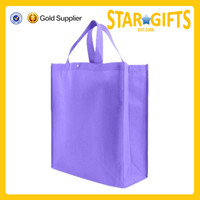 Top selling products 2015 purple cheap wholesale non woven shopping bag