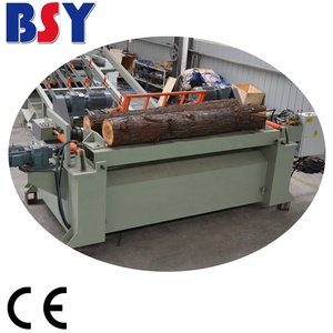 Tree debarking machine