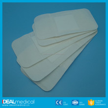 Waterproof medical dressing surgical supply sterile rectangular shape alginate dressing