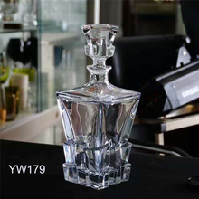750ml High End Lead Free Crystal Whisky Bottle