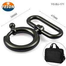 Fashion Bags Fitting Black Metal Trigger Hook