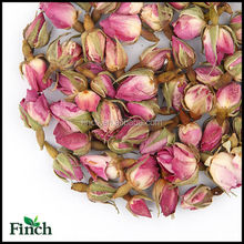 FT-001 Dried French Rose Buds Wholesale Scented Flavor Flower Herbal Tea