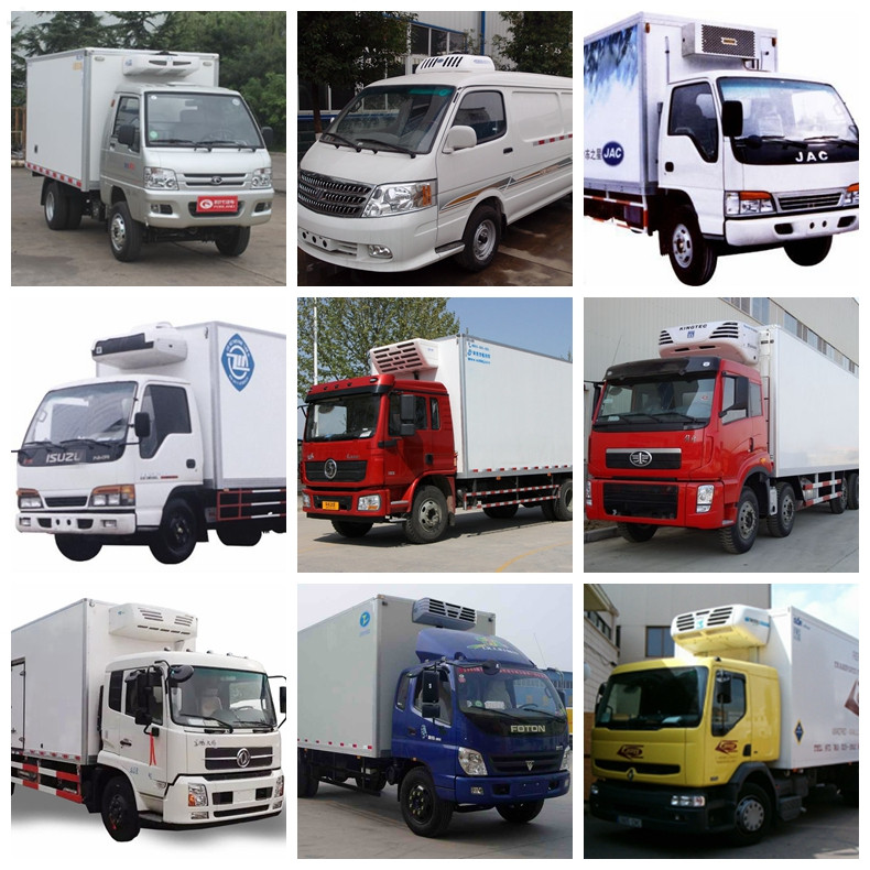 Changan 4*2 small refrigerated trucks for seafood transport