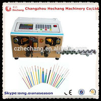 Automotive wiring harness ac power cable stripping machine electric car cable cutting and stripping machine china suppiler