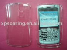 transparent hard case faceplate cover for Blackberry 8300