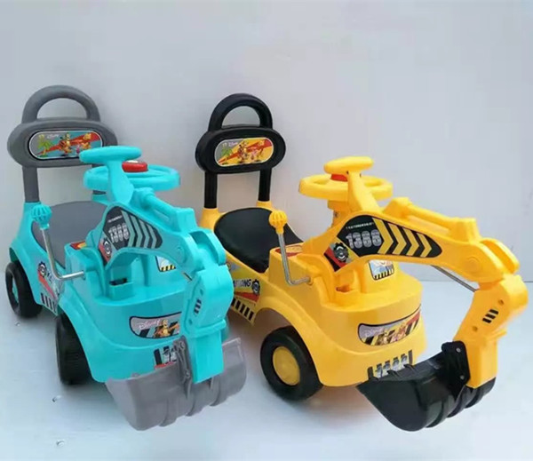 2017 fashion rc construction toy trucks excavator mini ride on toy excavator
