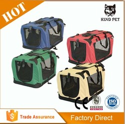 new good quality colorful canvas dog carrier cage