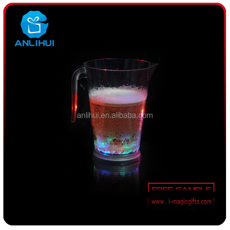 Hot Sale Flashing beer Glowing cup