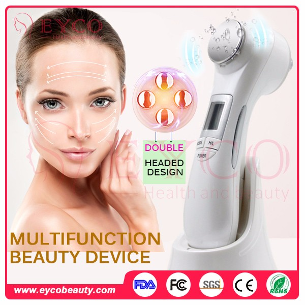Newest Unique 6 In 1 Multifunction Electronic Beauty Device Equipment For Face Slimming And Skin Care Use