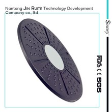High quality Pilates Balance Board,massage plastic board,round black balance board