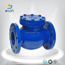DN500 DN2000 Cast Iron Drip Irrigation Flap Check Valve for Water Pump