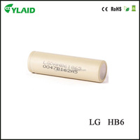 lithium ion car 18650 battery 3.7v LGhb6 battery 1500mah rechargeable cell 18650