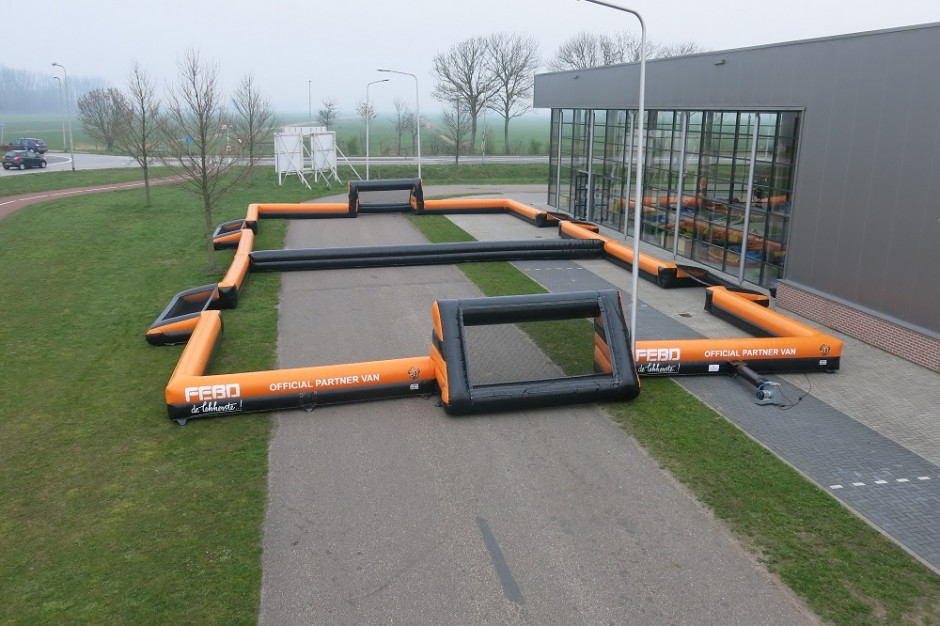 Commercial inflatable Holland boarding, Custom Inflatable boarding for sale
