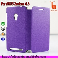 Branded new cheap price PU+PC material phone case for Asus Zenfone 4.5/T00Q, flip cover for Asus Zenfone 4.5/T00Q