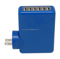 2.1A Fast Charger Multi 6 Port Home Travel USB Charger