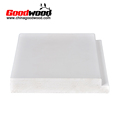 China Made White Paint Pvc Shutter Profile