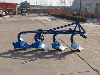 Factory supply agricultural steel furrow plough for 160hp tractor