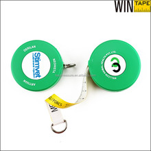 Professional Measuring Tool Green Color Customized Farm Cow Measuring Tape for Animal by OEM Service