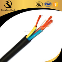 Professional China manufacurer PVC rubber electrical power cable 3x2.5mm2