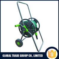 Hose Reel Cart Trolley Set Garden Outdoor Plants Watering Hosepipe 552465