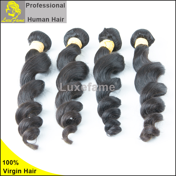 Luxefame 6A Brazilian Virgin Hair Loose Wave 26 28 30 Inch 100 Human Hair Brazilian Hair Sew In Extension
