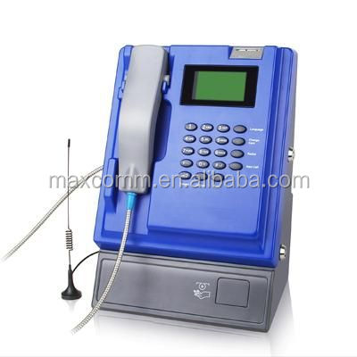 VOIP SIP Coin Payphone with WiFi RJ45 as WAN and support 3G network