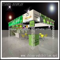 aluminum truss trade show display booth