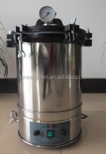large capacity 24L portable autoclave pressure steam sterilizer