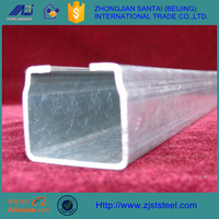 Ms steel q235 hot dip galvanized c channel
