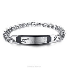SB071900-3 2015 fashionable cheap stainless steel bracelet jewelry imported from china