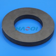 ceramic speaker sintered large ferrite ring magnet for loudspeake