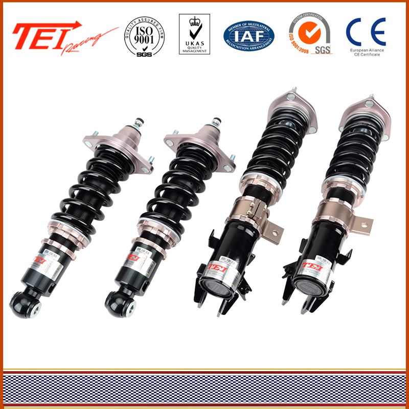 TEI 32 Ways Damping and Height Adjustable front suspension with High Durability for All Cars