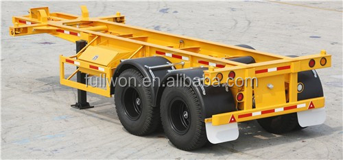 Hot selling model container trailer truck for 40 tons duty
