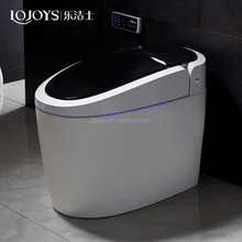 Luxury bathroom design automatic intelligent toilet floor mounted smart auto flush toilet seat a with remote control