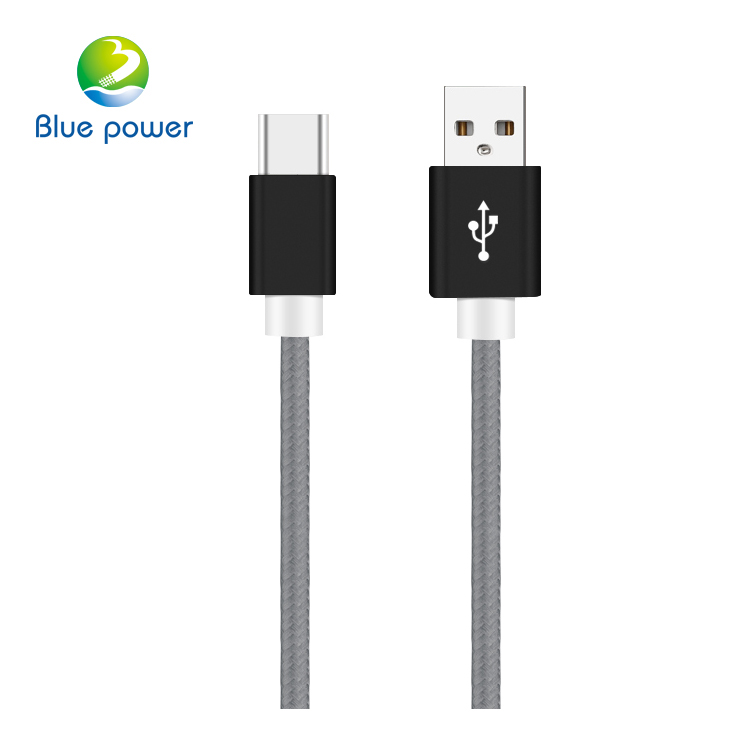 2017 New Mobile Phone Hot Sale Type-c Usb3.0,Durable Braided Type c Cable For Charging And Data Transfer