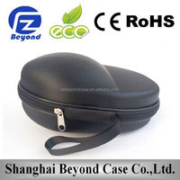 031183 EVA Headset Headphone Case Bag Box Custom Hard Headphone Protection Leather Case