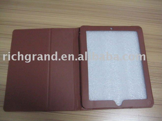 The genuine Leather case for Ipad 2 hot selling