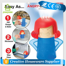 [FREE SHIPPING] [Retail Box Packaging] Cleaning Accessories As Seen On TV Kitchen Gizmo Angry Mama Microwave Cleaner