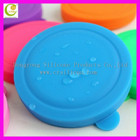 Silicone fashion makeup gift silicone mirror/makeup mirror, portable silicone cheap small cosmetic mirror