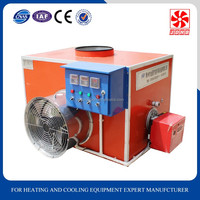 Industrial electric/oil/gas hot air duct heater for greenhouse chicken house