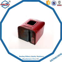 Single cylinder diesel engine water tank/water tank for tractor/aluminum radiator water tank