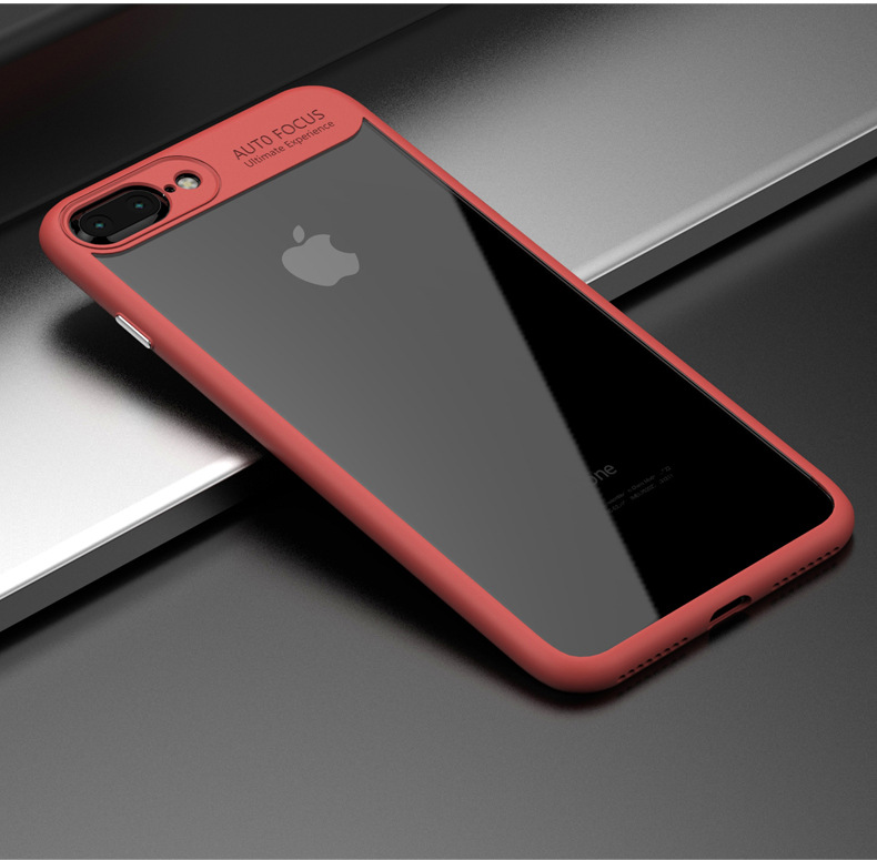 For iphone 7 phone case clear auto focus protector camera mobile phone <strong>cover</strong>