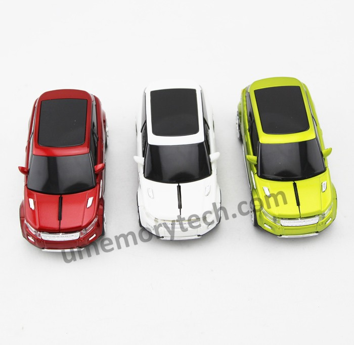 2.4Ghz Optical Mouse Wireless Chargeable PC Mouse Fashion Sports Car Shaped Mouse