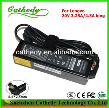 notebook computer adapters for Lenovo/IBM 20V 4.5A 90W, 20V3.25A 65W,20V2A 40W charger power supply